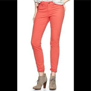 NEW GAP 1969 Orange Skimmer Legging Jean-Size 30R